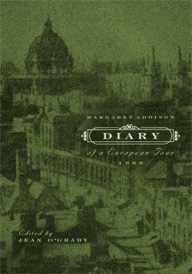 Front Cover - 'Diary of a European Tour, 1900'